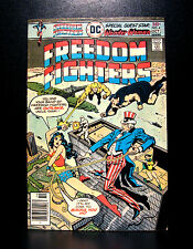 COMICS: DC: Freedom Fighters #4 (1976) - RARE (batman/flash/wonder woman)