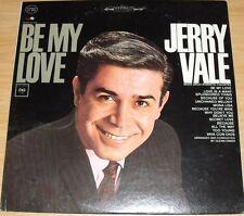 JERRY VALE BE MY LOVE ALBUM LP RECORD VINYL 1964  COLUMBIA CS 8981