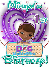 Doc Mcstuffins Inspired Doctor Theme Birthday Party Custom Iron on transfer