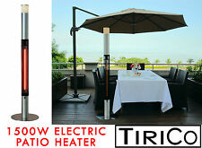Electric Patio Heater Carbon Lamp Outdoor Heater 1500W - Non gas