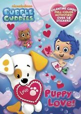 Puppy Love! (Bubble Guppies) (Full-Color Activity Book with Stickers) Golden Bo