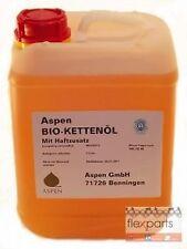 ASPEN Bio Kettenöl Sägeketten Haftöl Kettenhaftöl 5l