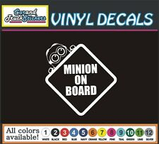 Baby Minion on Board funny Car Truck window wall vinyl sticker decal