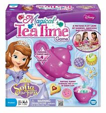Disney Princess Sofia Magical Tea Set Time Board Game - Girls Kids Gift Toy NEW!