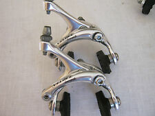 CAMPAGNOLO VELOCE 10-SPEED DUAL-PIVOT BRAKE CALIPERS, PAIR, VGC