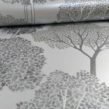 ELLWOOD TREES WALLPAPER - ARTHOUSE 670002 - SILVER GLITTER TREES NEW