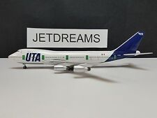 1/400 UTA (FRANCE) B 747-200 1980'S COLORS F-BTDG BIG BIRD AEROCLASSICS 240 MADE