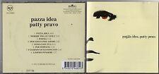 PATTY PRAVO CD fuori catalogo PAZZA IDEA originale 1A STAMPA 1998