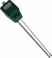 Worm Farming pH + Moisture Meter for Red Wiggler Composting Bins, New, Free Ship