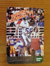 CFB 1983 BOISE STATE BRONCOS Football Schedule FB College