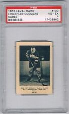 1952 Laval Dairy Subset Hockey Card Montreal Royals Les Douglas Graded PSA 4