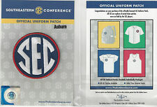 Auburn SEC Conference Jersey Uniform Patch 100% Official College Football Logo