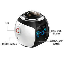 360° Wifi Panoramic Camera Ultra HD 2448*2448 Sport Action Driving VR Camera STR