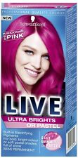 Schwarzkopf Live Ultra Brights 093 Shocking Pink Semi-Permanent Hair Dye x1