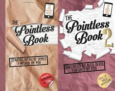 The Pointless Book 1 & 2 (2 Paperback Books) (Alfie Deyes) Youtube
