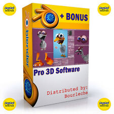 3D Game Animation Computer Software Rendering Modeling Graphics Design - #B1