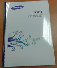 SAMSUNG GALAXY TAB 2 7.0  GT- P3110 FULL PRINTED USER MANUAL INSTRUCTIONS
