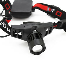 New Q5 LED 5W Waterproof Zoomable Zoom Headlamp Hiking Headlight Torch