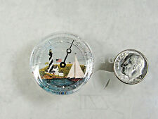 Dollhouse Miniature Tide Clock