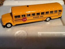 1 NEW 1/50 SCALE. DIECAST YELLOW SCHOOL BUS  WITH BATTERY AND PLAYS SONG