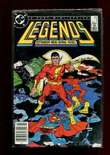 LEGENDS 5 NEWSSTAND EDITION(8.0)(VF)JOHN BYRNE-SUPERMAN-BATMAN-GUY GARDNER(b030)