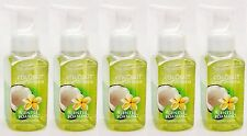 5 Bath & Body Works COCONUT LIME VERBENA Gentle Foaming Hand Soap Wash