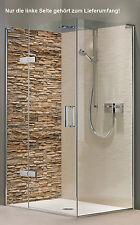 Rückwand Dusche Alu-Dibond Duschrückwand Fliesenspiegel Fliesen, Mauer Blende