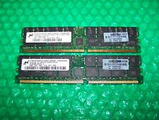 4GB  Micron PC3200R 400MHz DDR ECC Reg Memory for Servers  (2x 2GB)