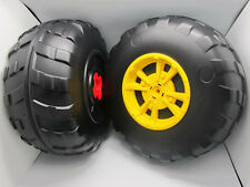 John Deere Peg Perego Gator XUV Rear Wheel Set (2 Tires) Left & Right - **NEW**