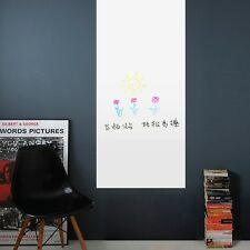 Erasable White Board Wall Sticker Art Vinyl Removable Mural Decal Kids Bedroom