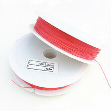 100 Meter (1 roll) watermelon red Tiger Tail Beading Wire/0.38