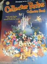 New Disneyland Walt Disney World Collector Packs Book Store Display Figures Pins