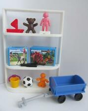 Playmobil Shopping centre/Dollshouse/Nursery school extras: Toy shelves NEW