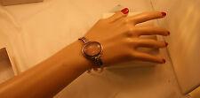 100% Genuine Vintage 925 Sterling Silver with Large Rose Quartz Bracelet