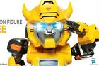 """Kids Logic Egg Attack 6"""" Transformers MN007 Bumblebee G1 LED Action Figure 1pc"""
