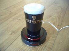 Vintage Guinness Illuminated Bar Top Pub Pump Font Sign Advertising Beer Light