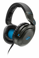 Sennheiser HD7 DJ Headband PRO Headphones - Black/Blue 505790 Brand New !!