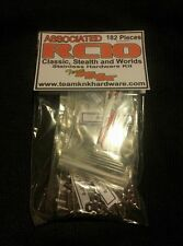 RC10 Stainless Hardare Kit (Gold Pan Worlds Graphite Vintage Stealth Associated)