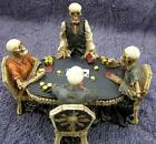 Nemesis Now END GAME SCULPTURE GOTHIC SKELETON GOTH DEAD GIFT POKER CARDS