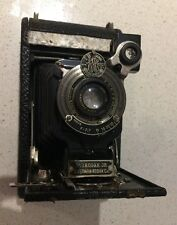 Vintage No 1 Auto graphic Kodak Jr. Junior USD Film No A-120 Camera
