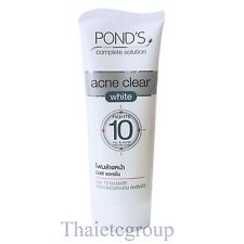 Pond's Complete Acne Clear White Fights reduce 10 Oil Acne Pimple zits problems