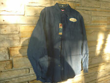 Men's Wrangler Relaxed Fit Premium Quality Denim Shirt  Quilted Lining  Small