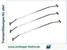 Planenbügel aus Aluminium (3 Stück) Breite 100 - 145 cm verstellbar