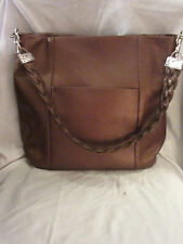 *MINT* BRIGHTON BRONZE PEBBLED LEATHER HOBO BAG