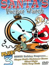 Santa's Pocket Watch ,DVD CHILDRENS CHRISTMAS STORY 3 FEATURES  NEW FREE SHIP