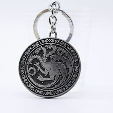 Keychain / Porte-clés - Game of Thrones Targaryen Dynasty Badge