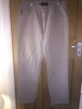 """Timberland Cream Cotton Chinos Trousers Jeans W36"""" L32"""" *C1"""