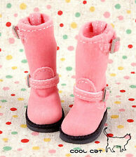 ☆╮Cool Cat╭☆【10-01】Blythe Pullip Doll Boots # Honey Pink