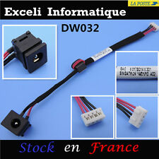 Dc power jack socket avec cable wire 4 pins Toshiba Satellite / Pro : P300, P305