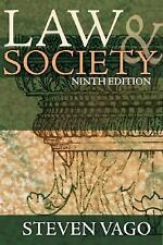 Law and Society (9th Edition) - Acceptable - Vago, Steven - Hardcover